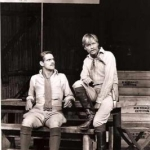 Jeremy Irons and Simon Ward in The Rear Column