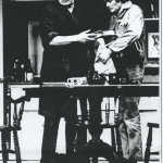 Jeremy Kemp and Simon Ward in Spoiled, 1971